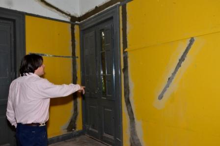 Comenzaron las obras de remodelación en la Quinta El Ombú