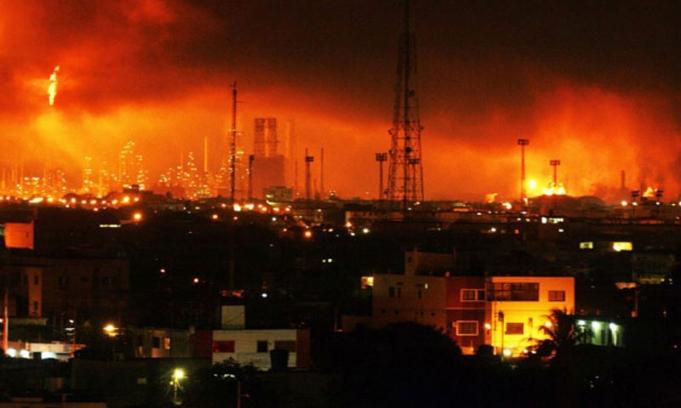 19 muertos y 53 los heridos por la explosión en la refinería de Venezuela