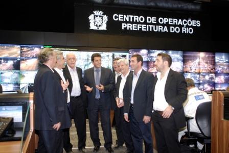 Sergio Massa encabeza una visita a Río de Janeiro con otros seis jefes comunales de la Provincia de Buenos Aires