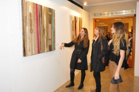 La muestra Vecinos renueva su imagen con las obras de Jimena Vilchez