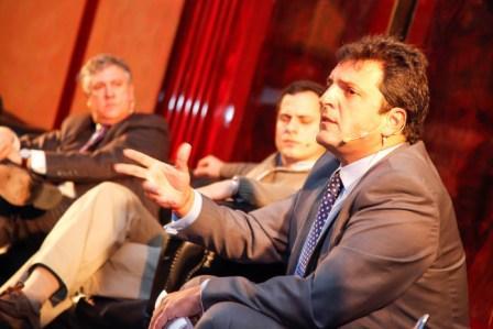 Sergio Massa participó de la XVIII Jornada Nacional de Articulación Público-Privada