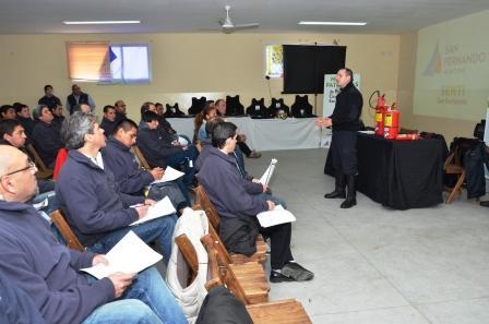 Se realizó la primera jornada del Curso de Capacitación para los choferes de Protección Ciudadana de San Fernando