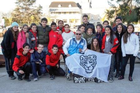 Carlos Vysocki, de Tigre a los Juegos Paralímpicos