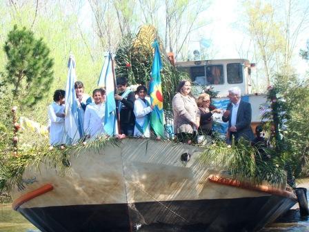 Celebración y procesión por las Fiestas Patronales del Arroyo Pay Carabí