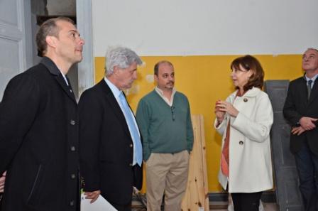 Continúan los trabajos de refacción y puesta en valor histórico en la Quinta El Ombú
