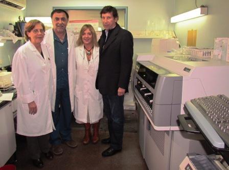 El Hospital Materno Infantil de San Isidro incorporó un Analizador Químico de última generación