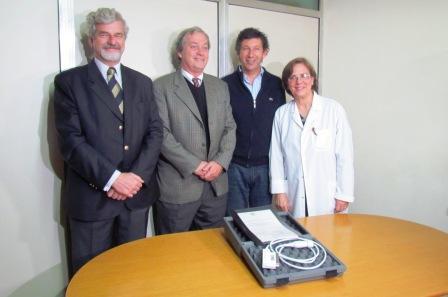 Guillermo Viacaba, Alejandro Daly, Gustavo Posse y Susana Vázquez