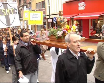 Comenzaron en San Fernando las fiestas Patronales de Nuestra Señora de Aránzazu