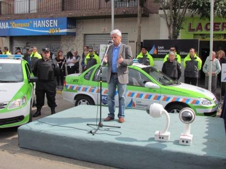 San Fernando presentó nuevas Patrullas de Protección Ciudadana y de Defensa