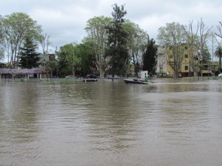 Alerta por crecida del Río de la Plata