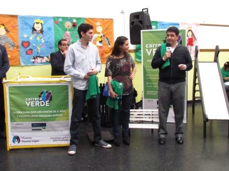 Vicente López  presentó el programa Carrera Verde