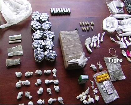 Atrapan en Tigre a una banda narco con células en el conurbano