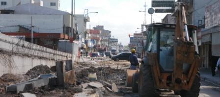 Comenzó la obra de desmonte del viejo puente de José León Suárez