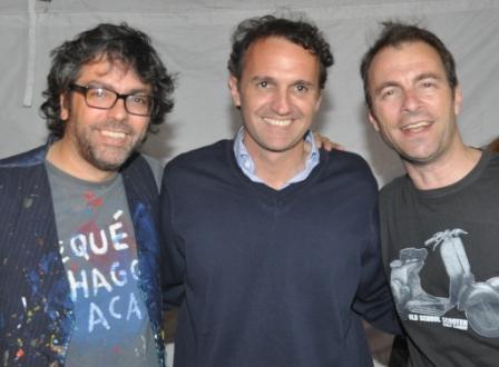 Miles de vecinos disfrutaron el show de Kevin Johansen en San Martín