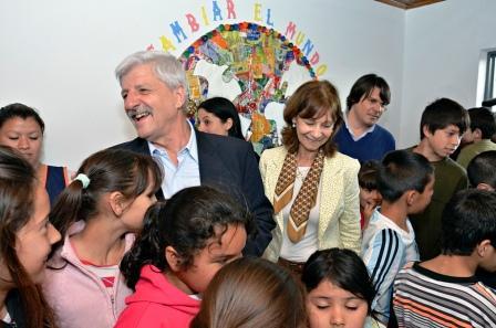 Se reinauguró en  San Fernando el Centro Educativo Integral Municipal Nº1