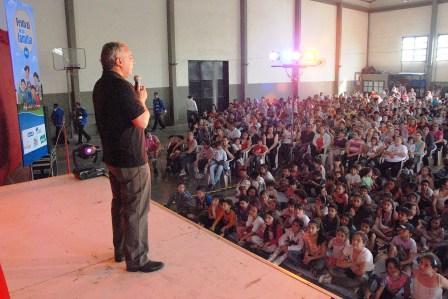 Se realizó con éxito el Festival Pampers en Tigre