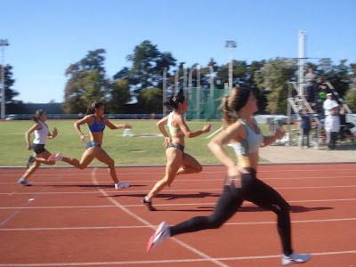 La Sanisidrense Valeria García Gómez, integrante del equipo municipal de atletismo, se consagró campeona juvenil nacional en el Campeonato Sub 20