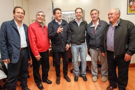 Con la seguridad y la solidaridad como ejes, Tigre y Rojas firmaron un acuerdo