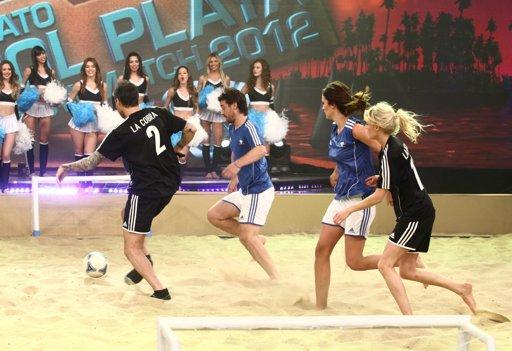 Bailando 2012 tuvo su torneo de fútbol pero la definición quedó en suspenso