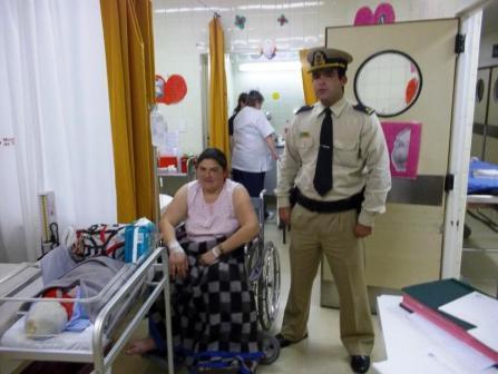 Prefectura  asistió a una embarazada en el Delta