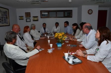 La Dirección Municipal de VIH/SIDA se reunió con los directivos del Hospital de San Fernando para delinear trabajos en conjunto