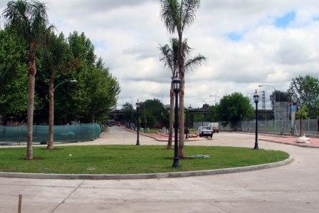 Las obras en el entorno de la Estación Pacheco, a punto de finalizar