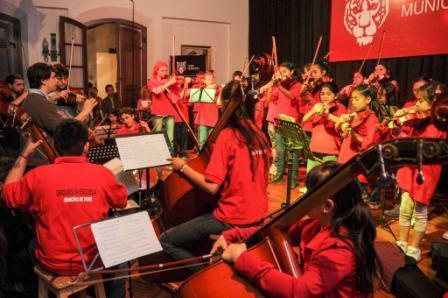 Las orquestas de Tigre vivieron un intercambio cultural y musical