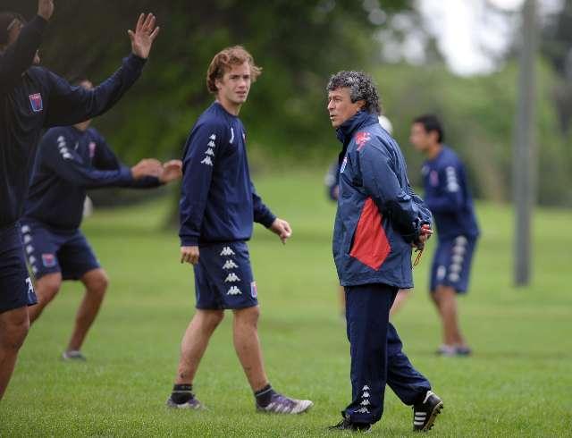 Gorosito dirigió su primer entrenamiento como técnico de Tigre