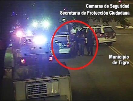 Tigre: secuestró, huyó y cayó filmado por las cámaras