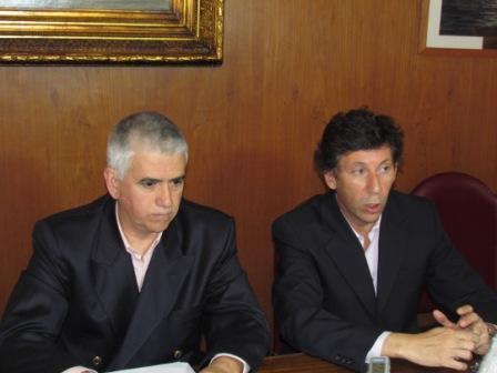 El intendente de San Isidro, Gustavo Posse, presentó junto al secretario de Obras Públicas, Federico García, el plan de Repavimentación y Bacheo