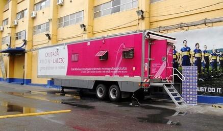 El móvil de LALCEC realizará mamografías gratis en Tigre