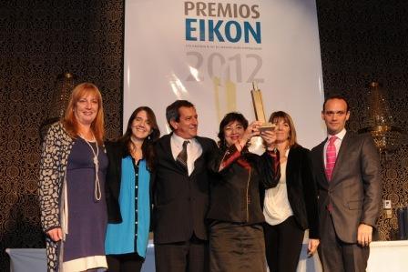 Tigre doblemente premiado en los premios Eikon