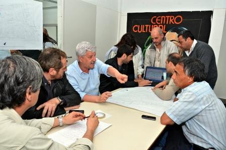 El Intendente Luis Andreotti reunió a todo su gabinete para evaluar el  accionar ante cualquier eventualidad