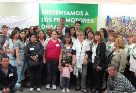 Se presentaron en Vicente López 32 Promotores Barriales de Salud