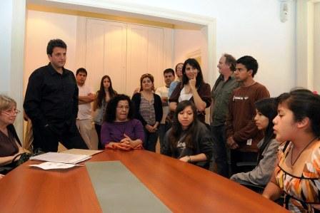Tigre apoyó a alumnos para llevar adelante un proyecto sobre la memoria