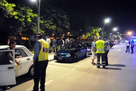 Secuestraron 50 autos en dos mega operativos simultáneos contra las picadas en Vicente López
