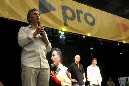 El líder de PRO, Mauricio Macri