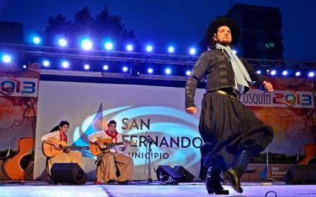 Se realizó por primera vez en San Fernando el Pre-Cosquín 2013