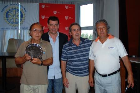 En el Pacheco Golf Club tuvo lugar un torneo de golf a beneficio, organizado por el Rotary Club de Tigre y patrocinado por el Municipio