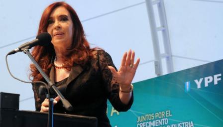 La Presidenta encabezó el acto de inauguración de la Expoindustria Petróleo y Gas, en Tecnópolis