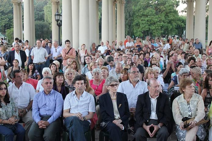 Posse participó en Tigre del homenaje al ex intendente Ricardo Ubieto