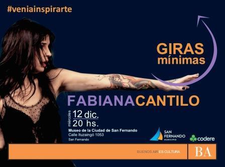 Fabiana Cantilo cantará en el Museo de San Fernando