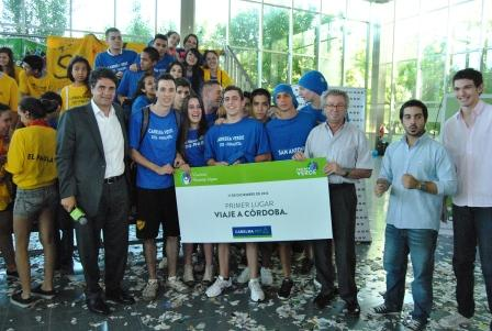 El colegio San Antonio fue el gran ganador de esta primera edición del concurso Carrera Verde