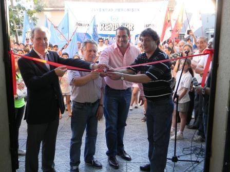 Se inauguraron las remodelaciones del Club Social de Boulogne