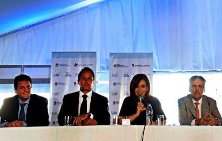 Con un acto en Benavidez, la Presidenta presentó nuevas señales de la TV Digital Abierta