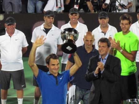 Federer en Tigre