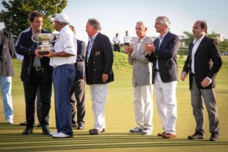 Cabrera ganó el Open de golf de Nordelta