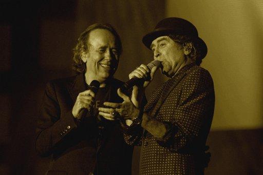 Joaquín Sabina y Joan Manuel Serrat emocionaron al público argentino en el cierre de su gira mundial