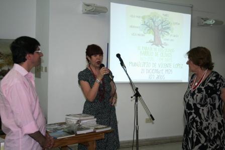 Presentaron en el HCD de Vicente López el libro 100 años de Munro