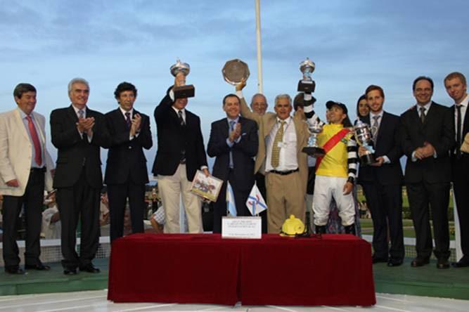 Se corrió en San Isidro el premio Carlos Pellegrini
